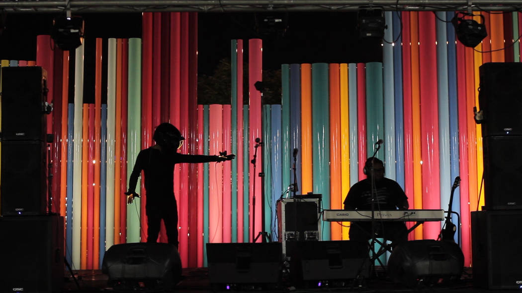 """""""My initial reaction was 'This could change everything,'"""" said Vegas artist and emcee Blake Hartshorn of watching Spectrum's video performances. (Ray Li)"""