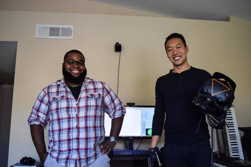 Li (right) and Ndubuisi (left) were college roommates at Cornell University when they partnered to create electronic instruments that utilized computer programming. (Alex Meyer/View) @alxmey