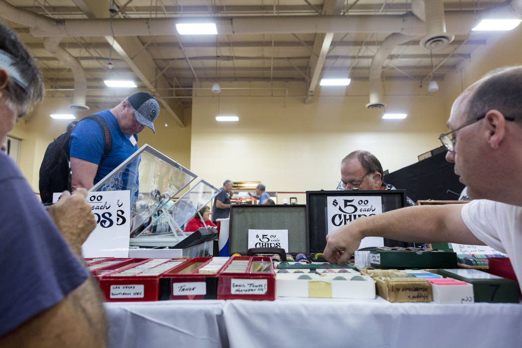 The 25th annual Casino Collectibles Convention underway at South Point hotel-casino in Las Vegas, Thursday June 22, 2017. Elizabeth Brumley Las Vegas Review-Journal