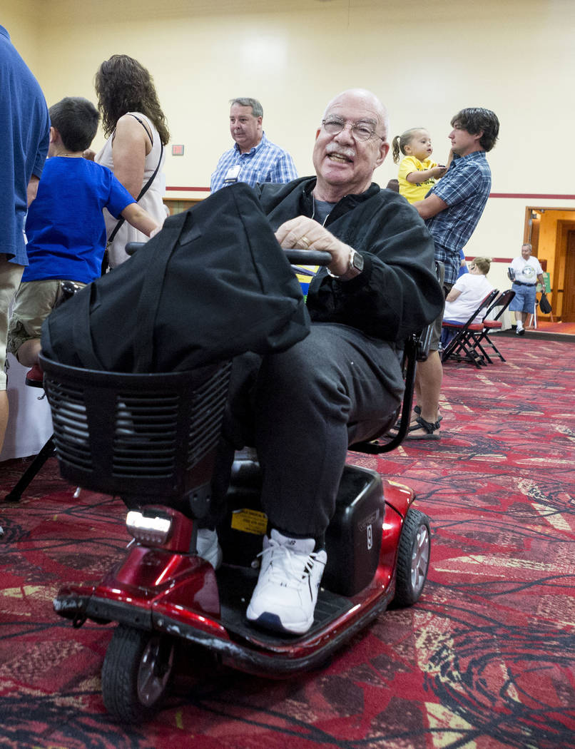Sheldon Smith convention co-chairperson during the 25th annual Casino Collectibles Convention at South Point hotel-casino  in Las Vegas, Thursday June 22, 2017. Elizabeth Brumley Las Vegas Review- ...
