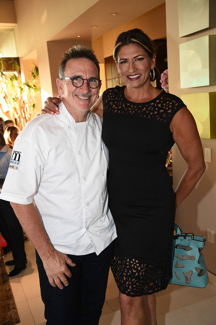 Chef Rick and Roni Moonen. (Al Powers)