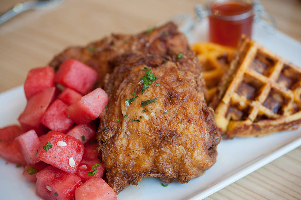 Yardbird's Lewellyn's Fine Fried Chicken. (Yardbird)