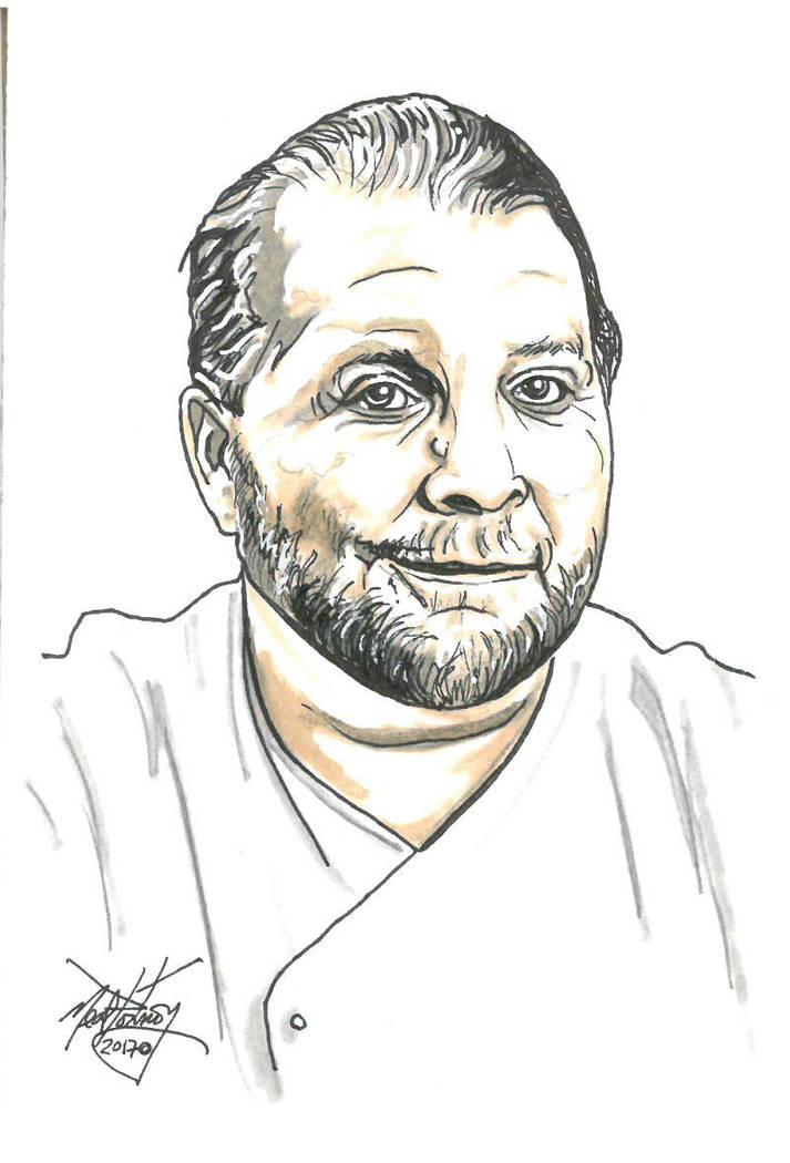 Mario Batali by Neal Portnoy
