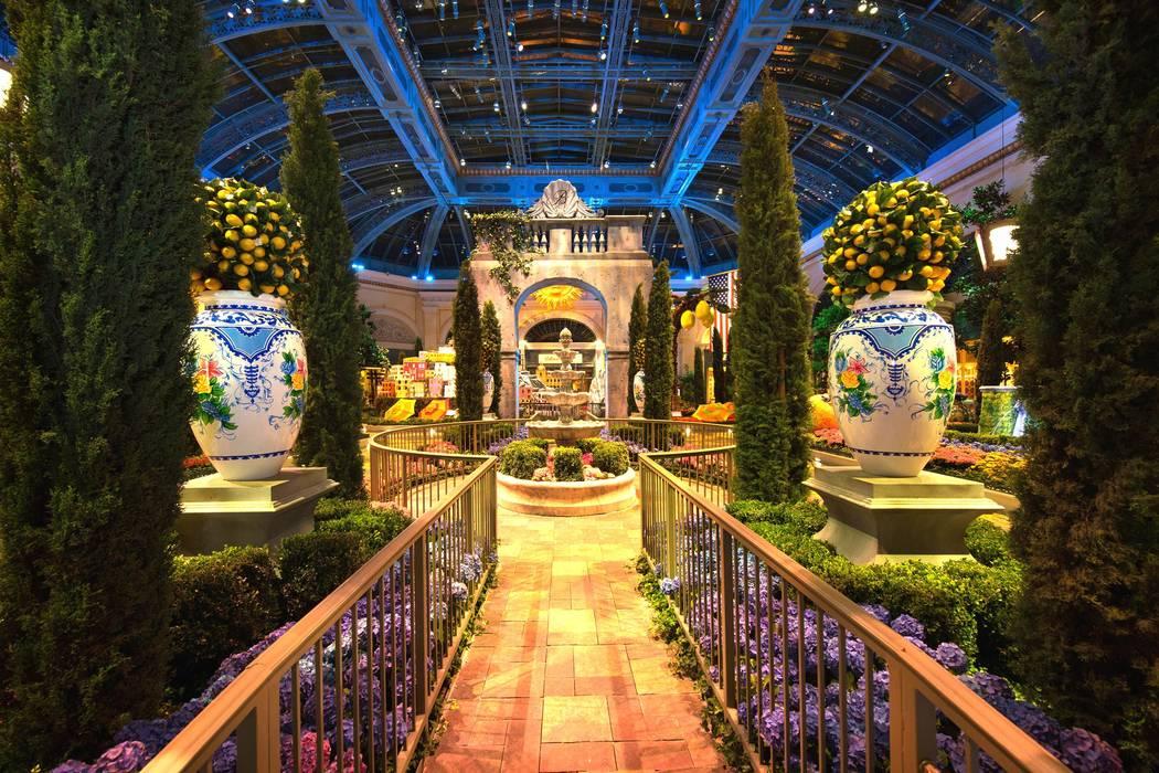 The east garden. (Courtesy)
