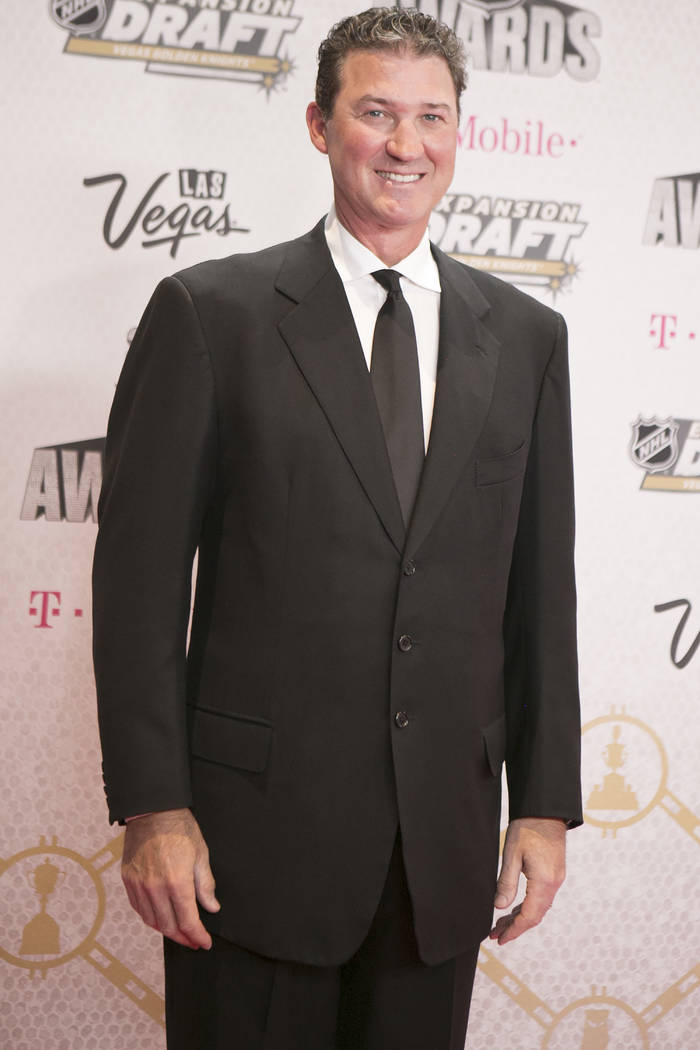 Mario Lemieux is pictured on the Magenta Carpet before the 2017 NHL Awards and Expansion Draft at T-Mobile Arena on Wednesday, June 21, 2017 in Las Vegas. Bridget Bennett Las Vegas Review-Journal  ...
