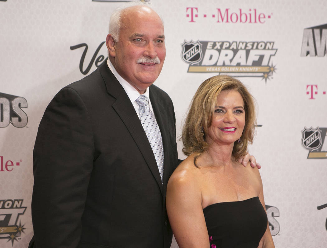 John Davidson is pictured on the Magenta Carpet before the 2017 NHL Awards and Expansion Draft at T-Mobile Arena on Wednesday, June 21, 2017 in Las Vegas. Bridget Bennett Las Vegas Review-Journal  ...