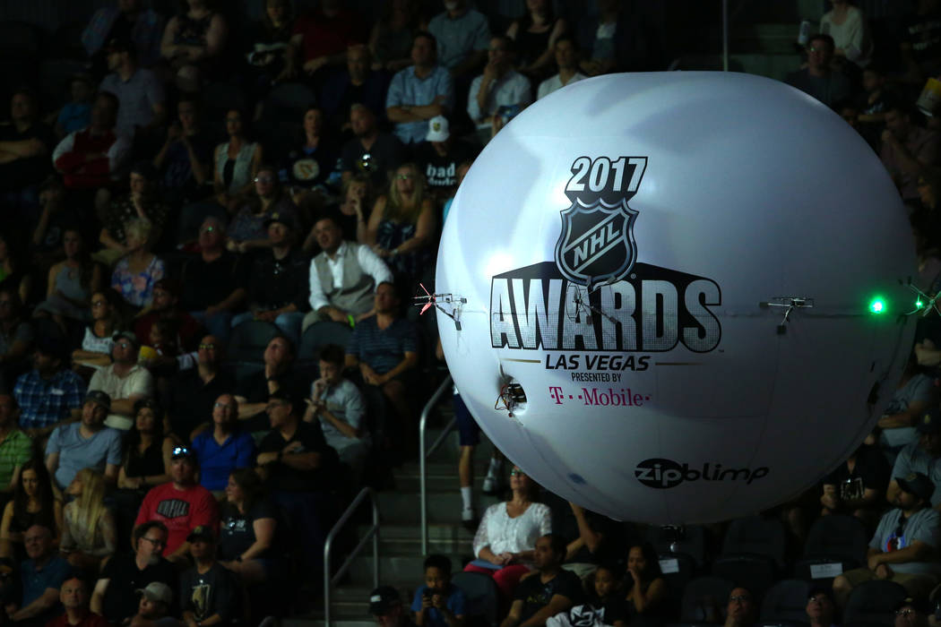 2017 NHL Awards and Expansion Draft at T-Mobile Arena on Wednesday, June 21, 2017 in Las Vegas. Chase Stevens Las Vegas Review-Journal @csstevensphoto