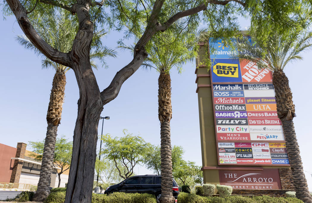 Arroyo Market Square in Las Vegas, Wednesday, June 21, 2017. Elizabeth Brumley Las Vegas Review-Journal