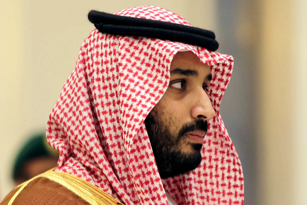 In this Nov. 11, 2015 file photo, Saudi Arabian Deputy Crown Prince Mohammed bin Salman attends a summit of Arab and Latin American leaders in Riyadh, Saudi Arabia in 2015. (Hasan Jamali/sFile)
