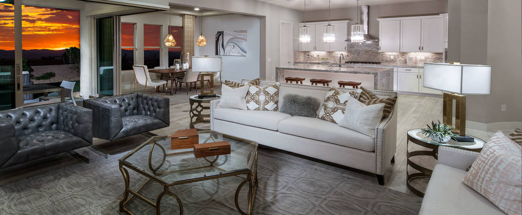 The Cesena model is one of 23 consumer-inspired floor plans at Reverence, a new village in Summerlin built exclusively by Pulte Homes. The village opened to the public June 10. (Pulte)