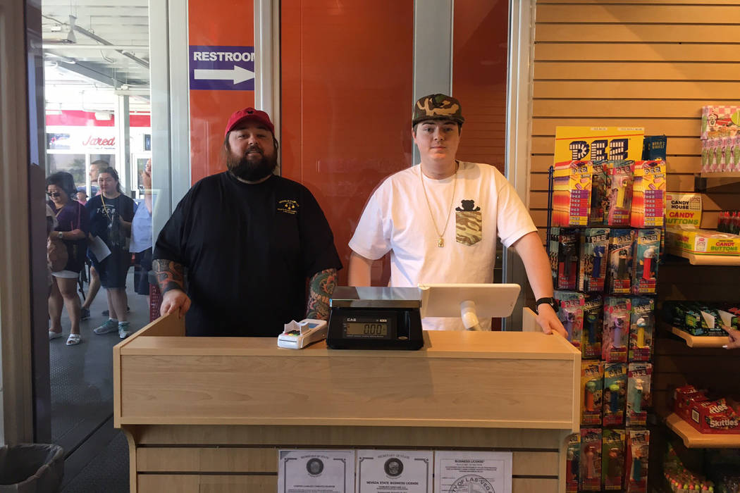 "Austin ""Chumlee"" Russell and his brother Sage are co-owners of Candy on the Blvd. PR Plus"