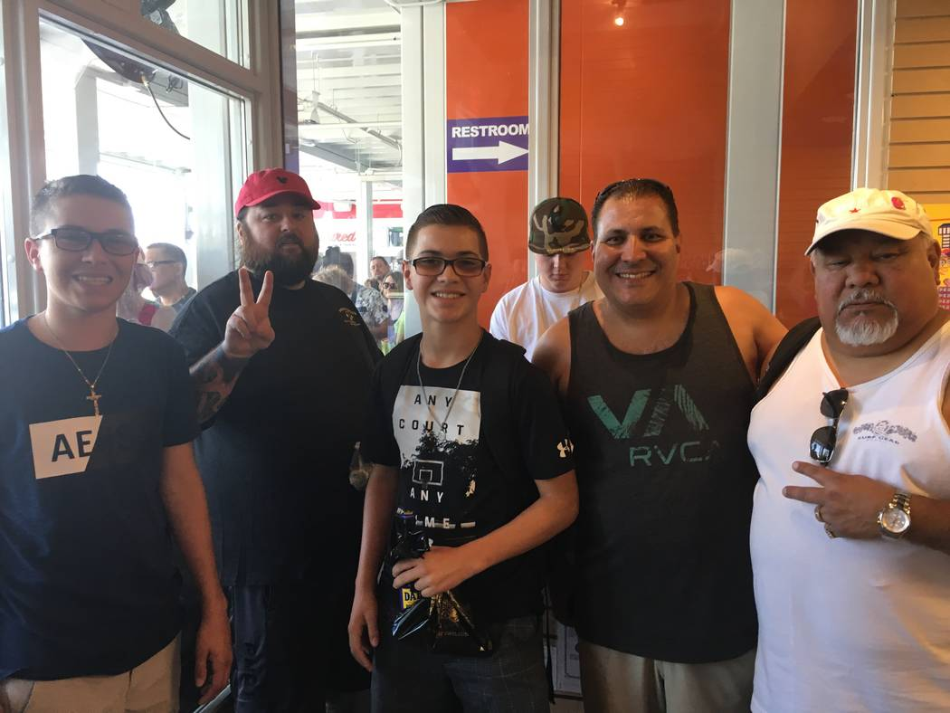Fans lmeet Chumlee at Candy on the Blvd. PR Plus
