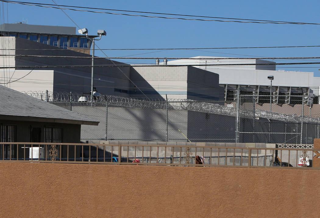 The old abandoned North Las Vegas Detention Center, seen in 2015 (Bizuayehu Tesfaye/Las Vegas Review-Journal)