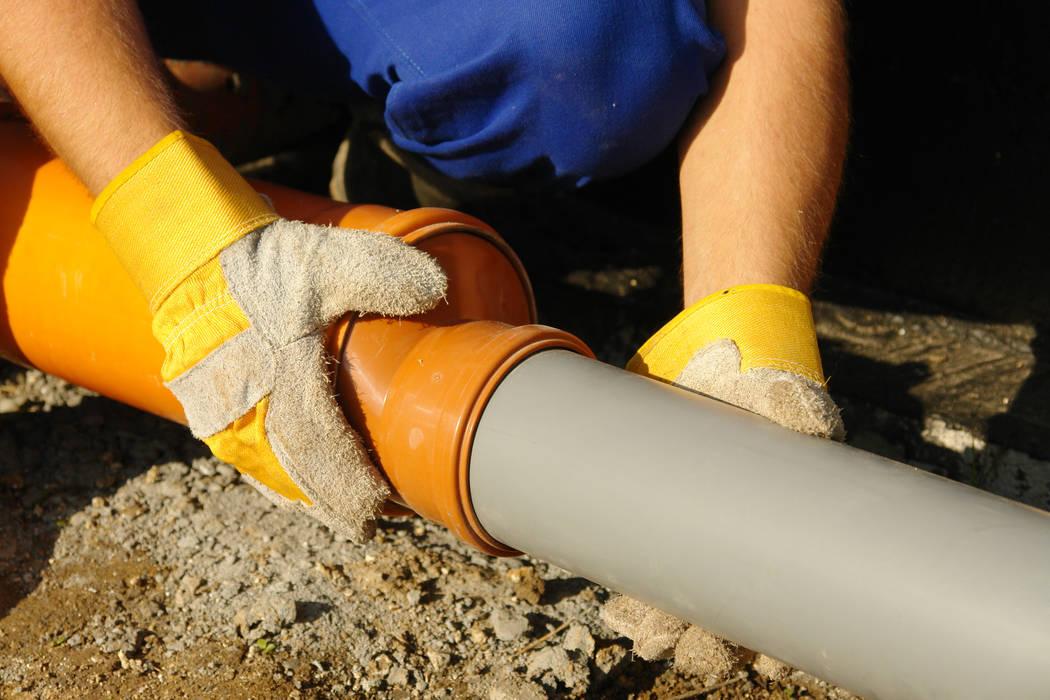 Sewage pipes. (Thinkstock)
