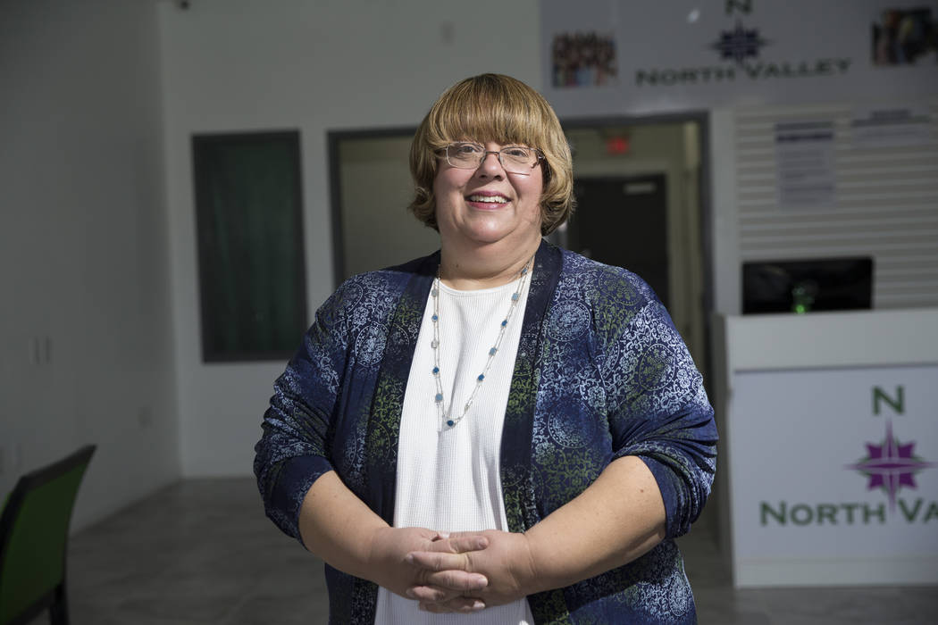 North Las Vegas City Councilwoman for Ward 3 Anita Wood on Tuesday, May 16, 2017 in North Las Vegas. Erik Verduzco Las Vegas Review-Journal @Erik_Verduzco
