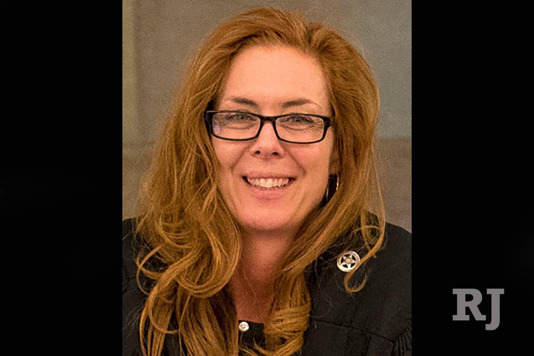 Las Vegas judge Heidi Almase (Las Vegas Review-Journal)