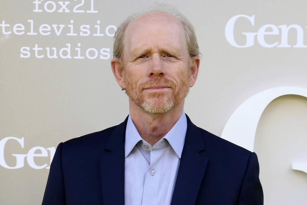 "Filmmaker Ron Howard arrives April 24, 2017, at the premiere of ""Genius"" in Los Angeles. Howard is taking command of the Han Solo ""Star Wars"" spinoff after the surprise departure of directors  ..."