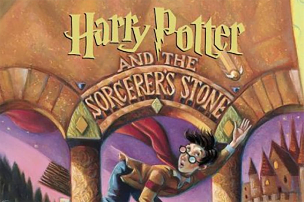 Artist Mary GrandPré's cover art for Harry Potter and the Sorcerer's Stone. (Twitter)