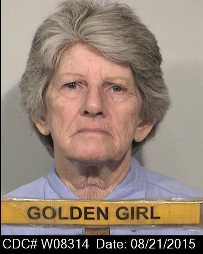Patricia Krenwinkel, Aug. 21, 2015. (California Department of Corrections and Rehabilitation via AP, File)