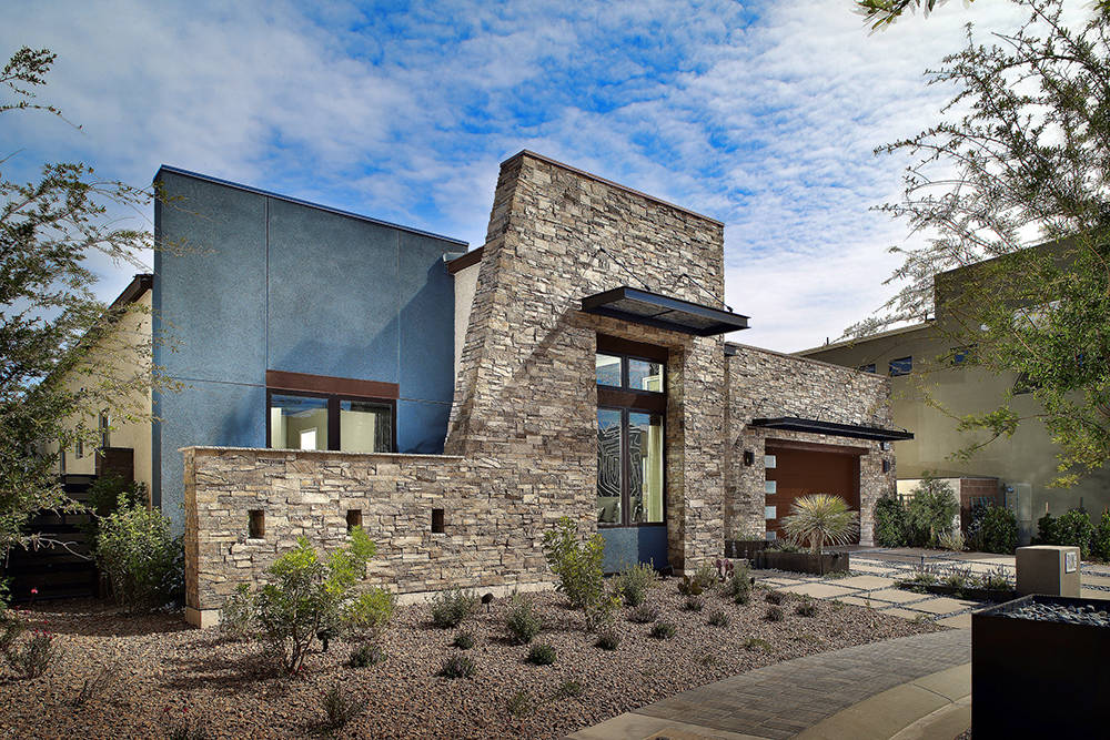 West of Lennar, on Green Valley Parkway, Pardee Homes' Axis community offers five distinct floor plans ranging from 2,936 to 4,451 square feet, pricing from the low $800,000s to more than $1 milli ...