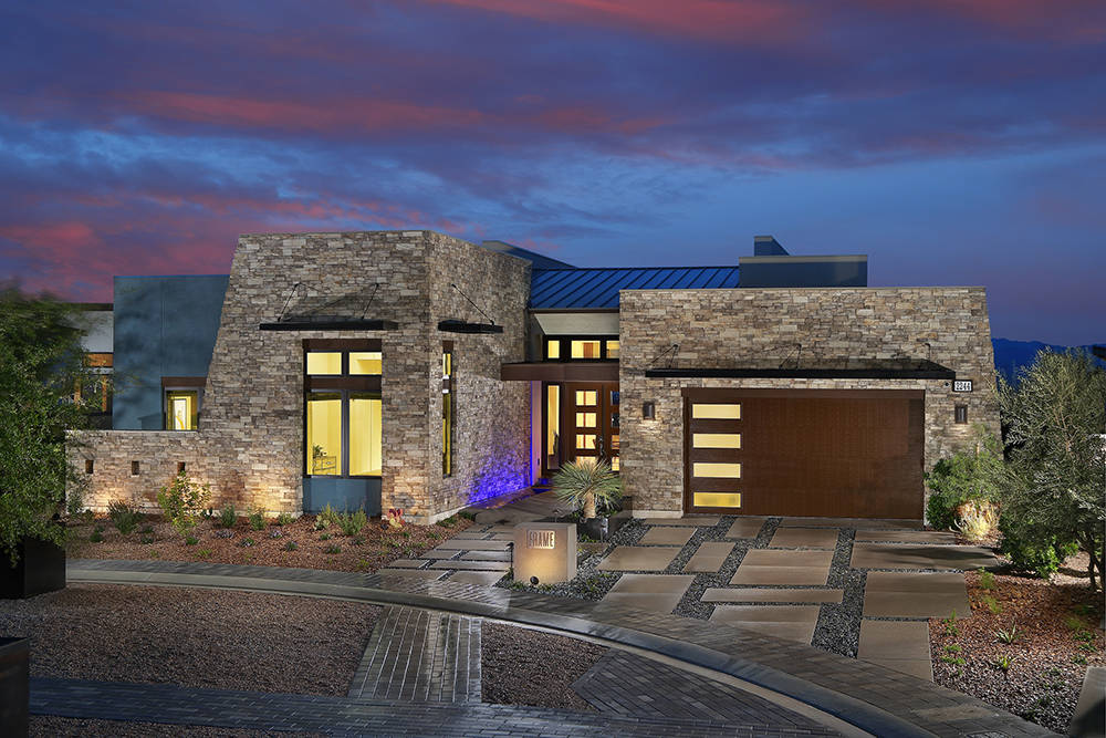 Homebuilders Embrace Modern Architecture Las Vegas Review Journal
