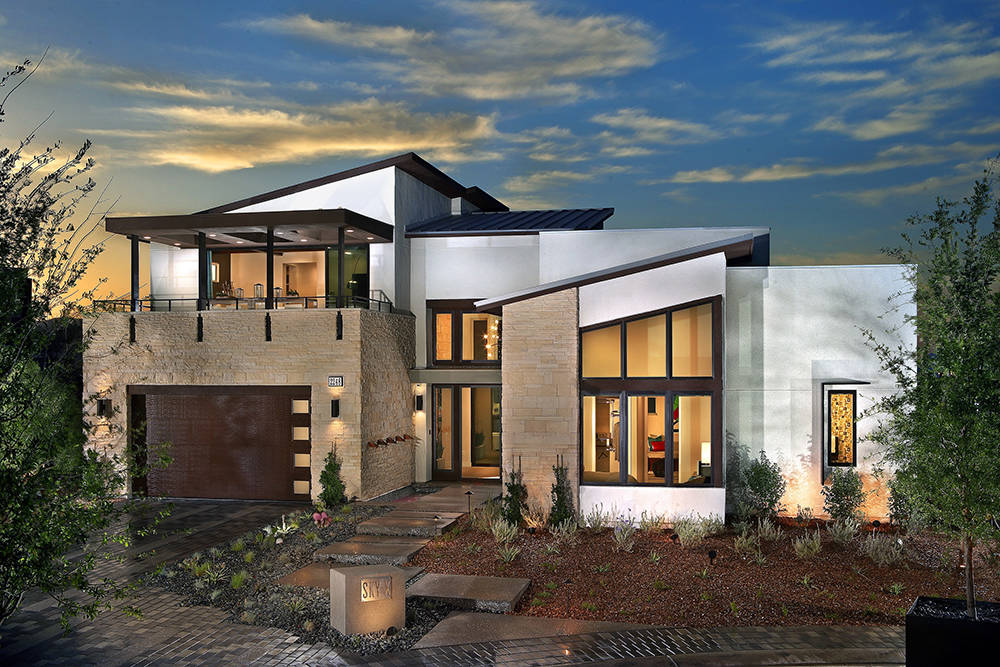 Homebuilders, such as Pardee Homes, are offering modern designs in luxury homes. (Pardee)