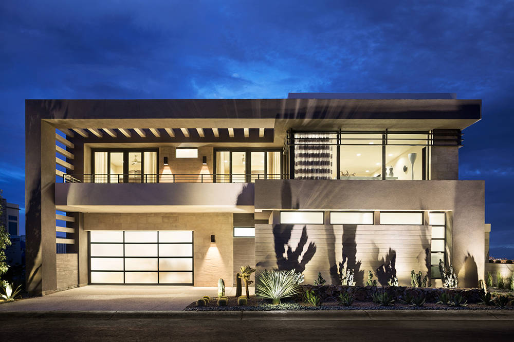 "Since 2004, Blue Heron has designed and built exclusively ""Vegas Modern"" homes. The design, according to Blue Heron owner and founder Tyler Jones is specific for the desert climate and customi ..."