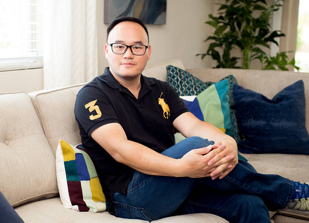 Recently moving into The Canyons, Jeffery Ho said he chose the development because of the modern design as well as the location. Ho has lived in the area for more than 35 years. (Tonya Harvey RjNe ...