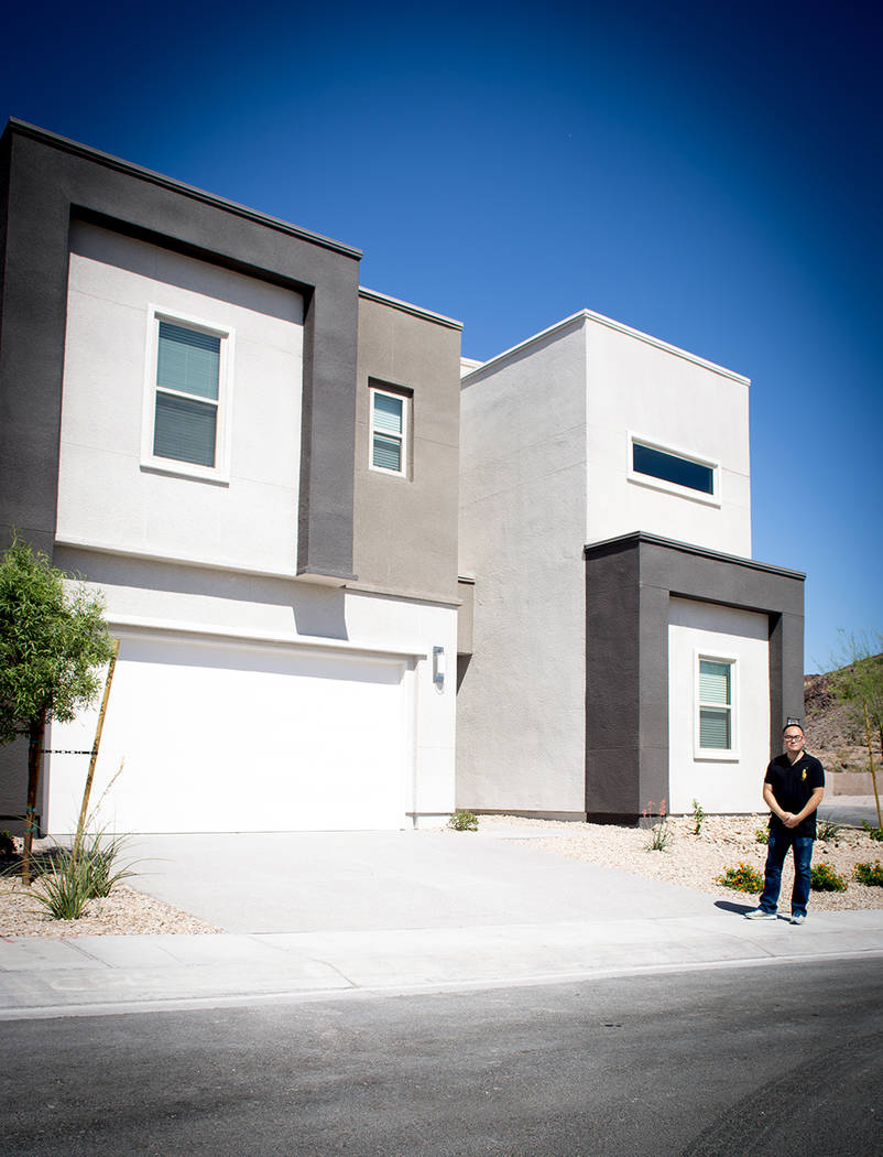 """I'm very drawn to clean, simple and straight line designs and architectures,"" said The Canyons resident Jeffery Ho, who chose Lennar's Orion floor plan. ""It is very well-designed with n ..."