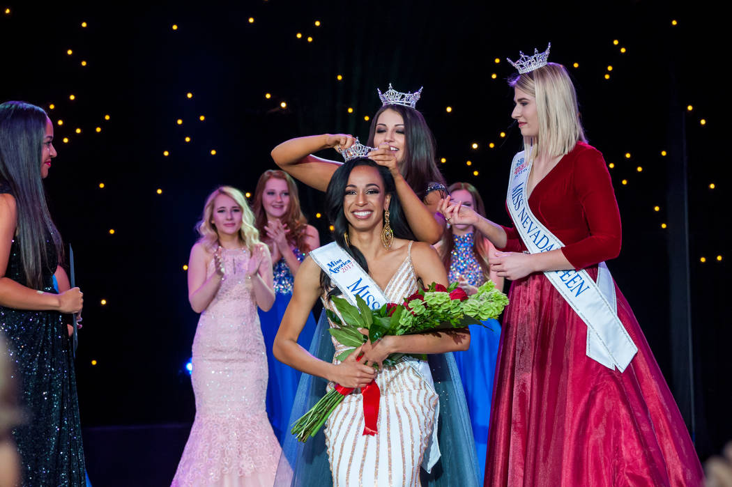 Miss Nevada Andrea Martinez was crowned June 16. (Courtesy)