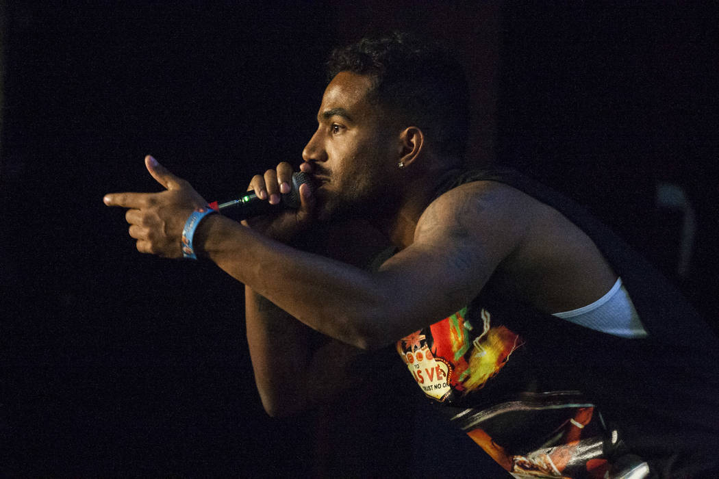 Futuristic performs at Vans Warped Tour at the Hard Rock Hotel and Casino on Friday, June 23, 2017.  Patrick Connolly Las Vegas Review-Journal @PConnPie