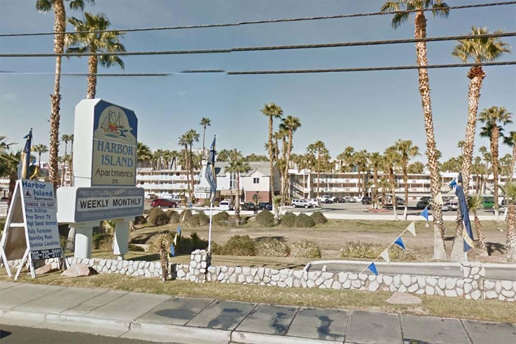 Harbor Island Apartments, 370 E. Harmon Ave. (Google Street View)