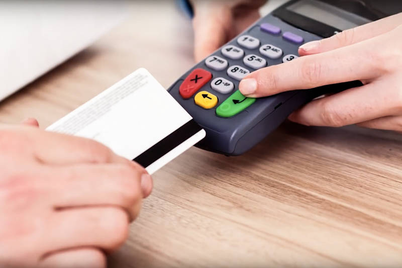 Skimming involves stealing credit card information by putting an illegal card reading device on an A.T.M. (Henderson Police Department)