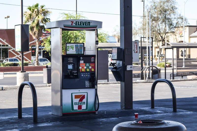 """""""If you're going to use the outside pumps, at least use it as a credit card transaction,"""" Williams said. (Alex Meyer/View) @alxmey"""