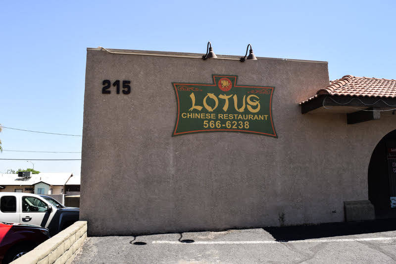 Lotus has a few parking options in the front of the building as well as a parking lot to its left side. (Alex Meyer/View) @alxmey