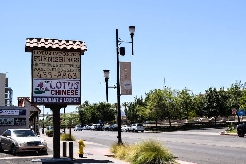 Lotus is across the street from Henderson's recreational center and city hall. (Alex Meyer/View) @alxmey