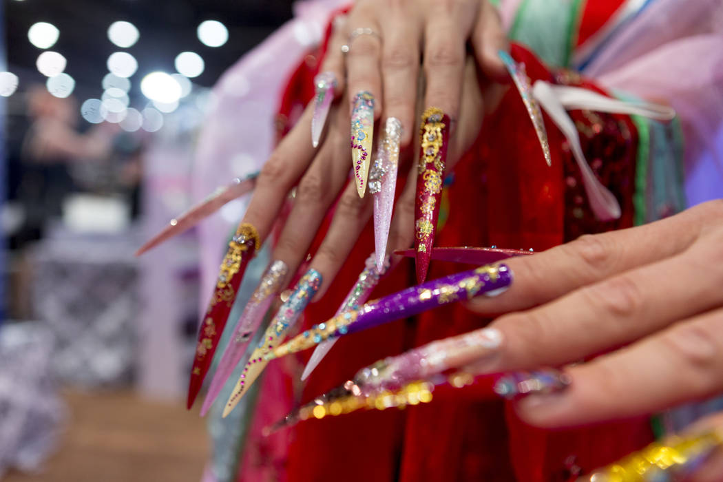 Nailing down new trends at Las Vegas cosmetics expo — PHOTOS – Las ...