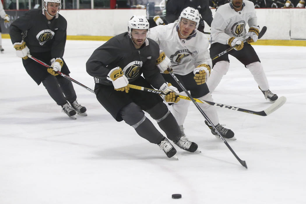 Golden Knights Junior Free Agents Skating For Attention