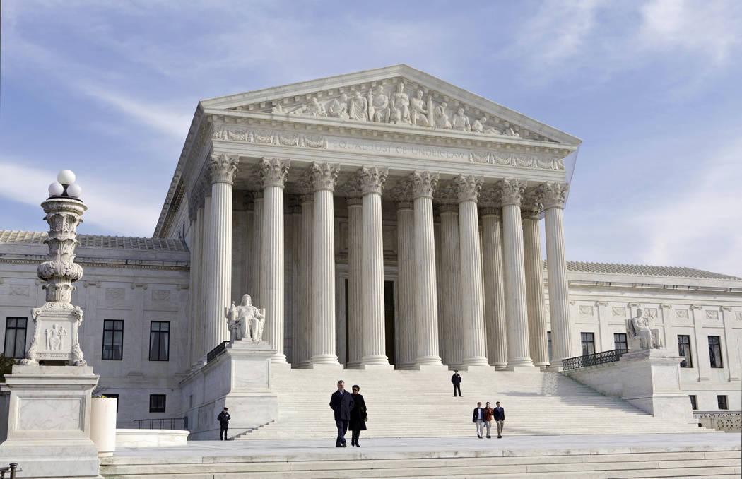 The U.S. Supreme Court Building in Washington. (J. Scott Applewhite/AP, File)