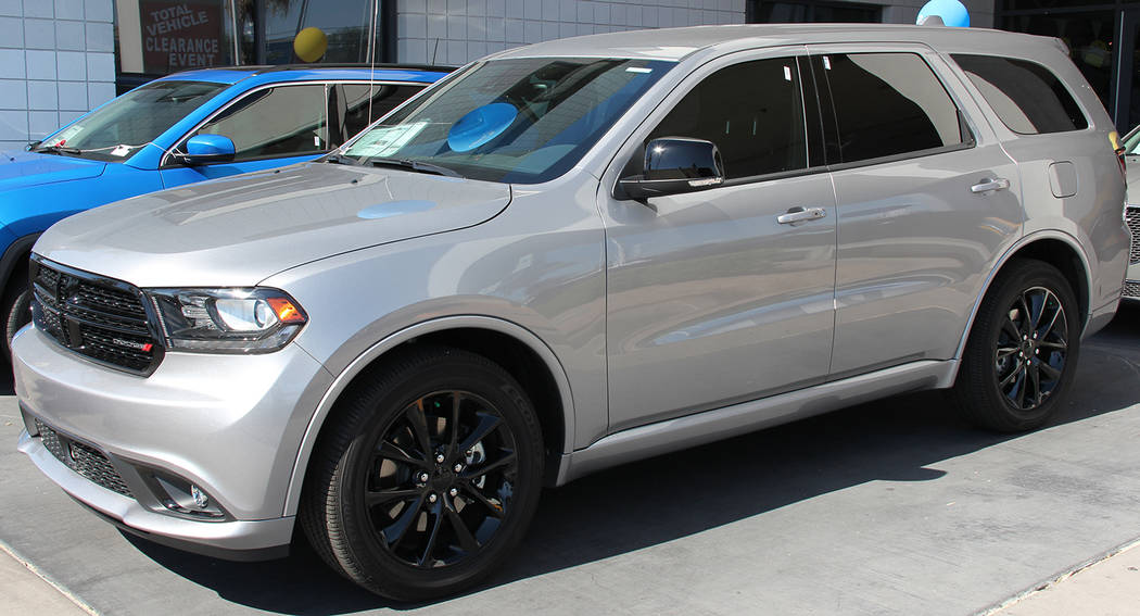 Chapman Dodge The 2017 Dodge Durango is available at Chapman Dodge Chrysler Jeep Ram.