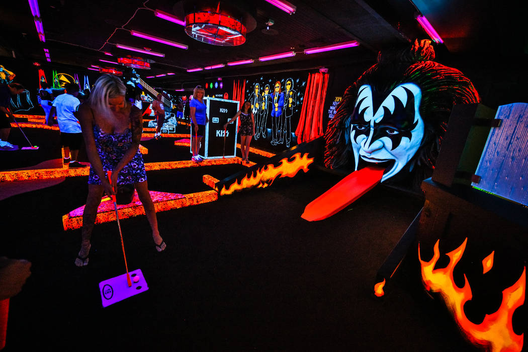 The operator of the Rio mini-golf course themed for the rock band Kiss will open a second location at Bally's. The theme for the new golf course is not yet known. (Christina Vitagliano/Monster Min ...