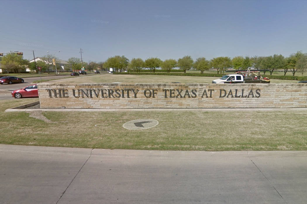 The school told people on campus to go to UT Dallas parking lots and to stay away from buildings until further notice. (Screenshot/Google Streetview)