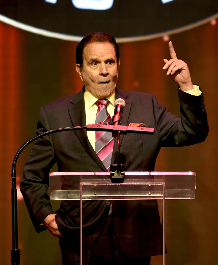 Rich Little brings his cast of characters to the roast. (Glenn Pinkerton/Las Vegas News Bureau)