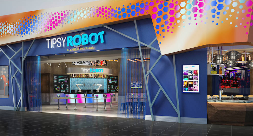 Tipsy Robot bar in Planet Hollywood. (Courtesy)