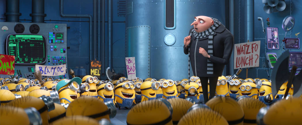 """Gru (STEVE CARELL) and the Minions return in """"Despicable Me 3.""""  Illumination, who brought moviegoers """"Despicable Me"""" and the biggest animated hits of 2013 and  ..."""
