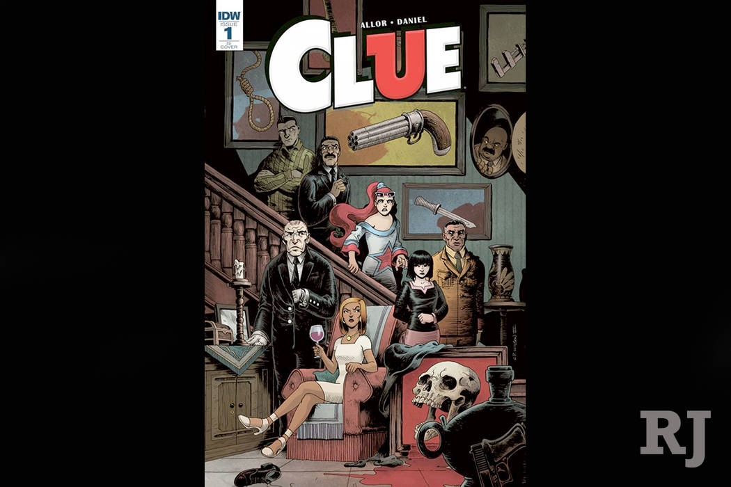 The board game Clue is now officially a comic book. (IDW)