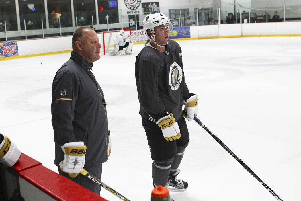 Golden Knights Equipment Manager Meets Deadline For Camp