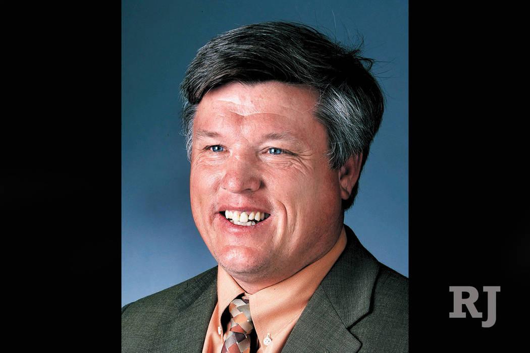 North Las Vegas Constable Robert Eliason (Las Vegas Review-Journal)