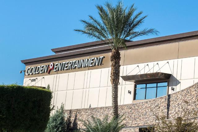 A Golden Entertainment building is seen on Thursday, Aug. 3, 2016, in Las Vegas. Elizabeth Page Brumley/Las Vegas Review-Journal Follow @elipagephoto