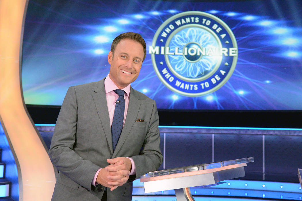 "A photo from the production of ""Who Wants To Be A Millionaire"" on 7/7/15, in Stamford, Conn.  (Lorenzo Bevilaqua-Disney/ABC Home Entertainment)"
